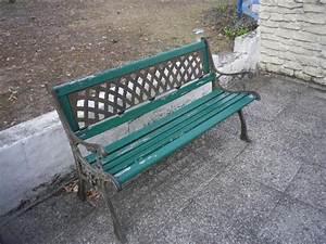 Banc De Jardin Fer Forgé : banc de jardin en bois et fer forg donner ecouflant ~ Dailycaller-alerts.com Idées de Décoration