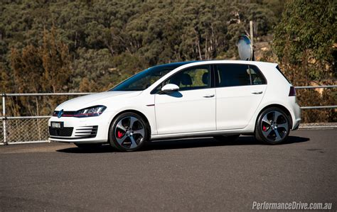 volkswagen golf 2016 volkswagen golf gti review video performancedrive