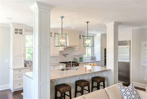 kitchen islands with posts 25 best ideas about kitchen island pillar on