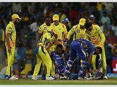 IPL 2018 Hardik Pandya survives injury scare during MI vs
