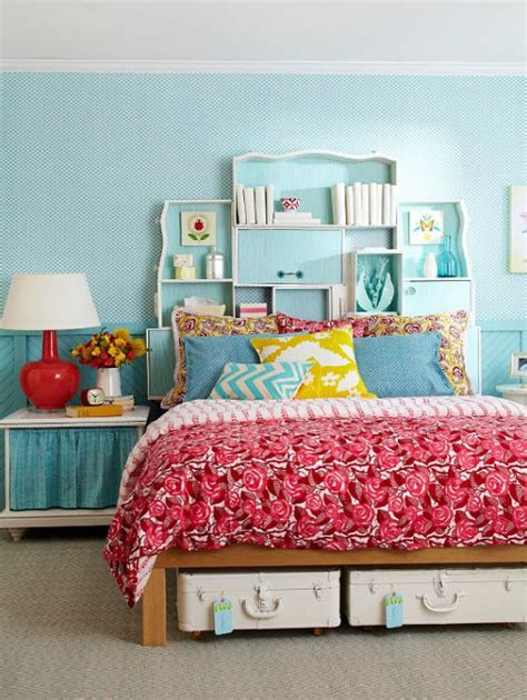 colorful girls bedroom design ideas