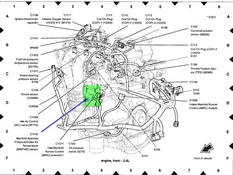 Engine Wiring Harnes For 2005 Ford Focu by Where Can I Locate The Iat Sensor On My2