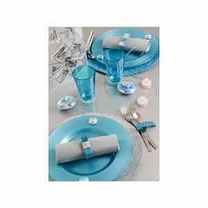 Set De Table Argenté : set de table rond paillet couleur 34 cm set de table deco festive ~ Teatrodelosmanantiales.com Idées de Décoration