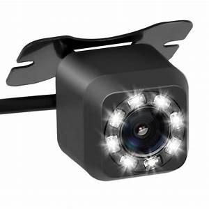 Backup Camera 8 Led Night Vision Hd 170 Degree Viewing