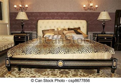 chambre leopard photo beau chambre à coucher image images photo