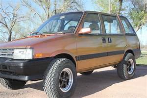 1986 Nissan Stanza  Datsun Prairie  4x4 One Of A Kind    For Sale  Photos  Technical