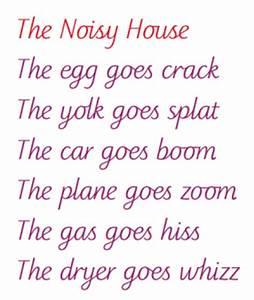Onomatopoeia Poem Examples   www.pixshark.com - Images ...