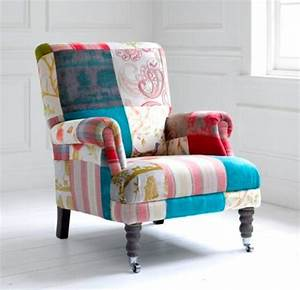Voyage Maison Acanthus Patchwork Chair In Highland Jewel