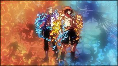 Ace Piece Anime Portgas Phoenix Background Gol