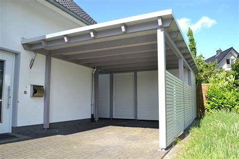 fertiggarage mit carport carport bauhaus hpl pfiff carports carport carport