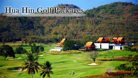 hua hin thailand golf vacation packages