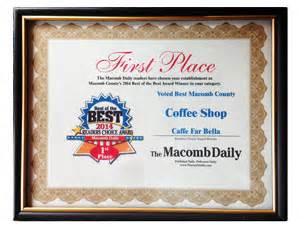 macomb daily phone number welcome caffe far a great place for coffee and
