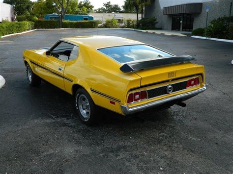 1973 ford mustang fastback 1973 ford mustang mach 1 fastback 184393