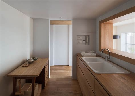 Japanese Kitchen Apartment by Apartment Machiya An Italian Inspired Tokyo Apartment By