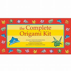 The Complete Origami Kit For Kids