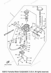 Yamaha Atv 2001 Oem Parts Diagram For Carburetor