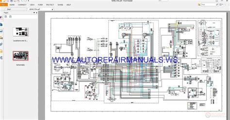caterpillar full wiring diagrams schematics manual auto