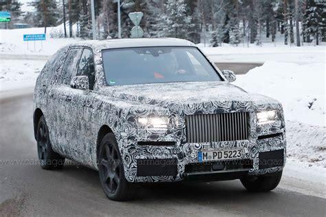 Rolls Royce Cullinan Suv Closest Look Yet By Car Magazine