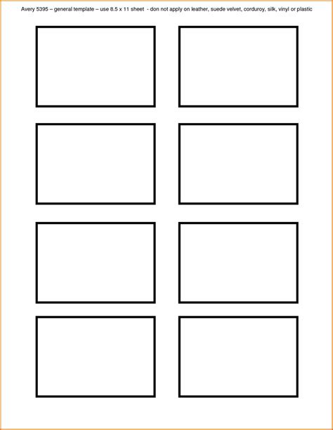 New Blank Template For Business Cards  Templates Design