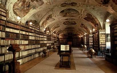 Library Czech Books Prague Shelves Republic Klementinum