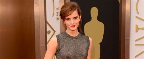 Emma Watson The Oscars Popsugar Celebrity