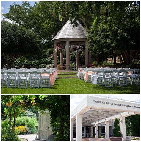 fort worth botanical gardens wedding lower garden at