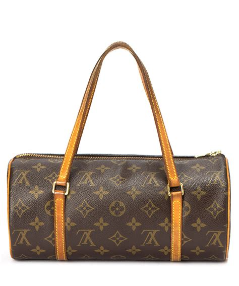louis vuitton papillon brown monogram barrel bag designer