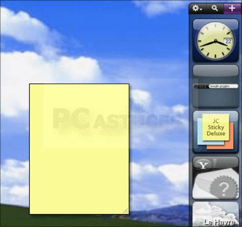 post it sur bureau windows 7 note sur le bureau 28 images afficher des post it sur