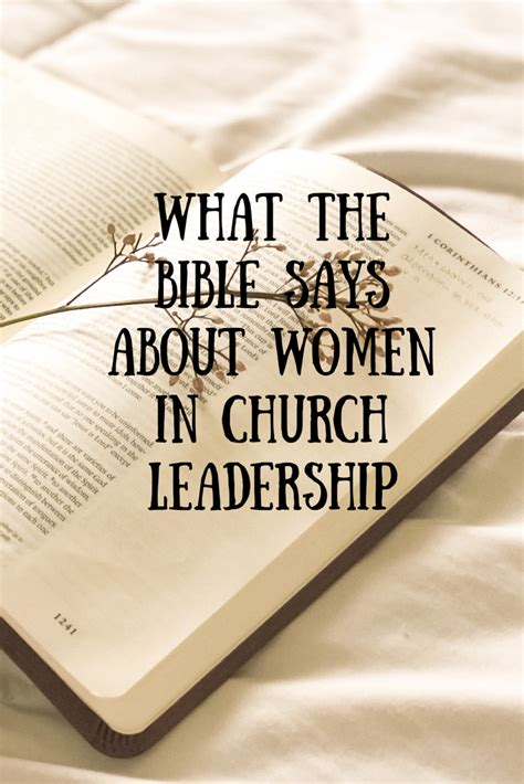 devo   bible   women  church leadership