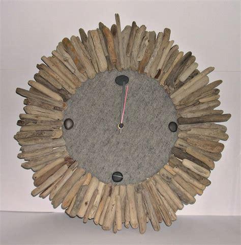 Orologio da parete con legni di mare Per la casa e per