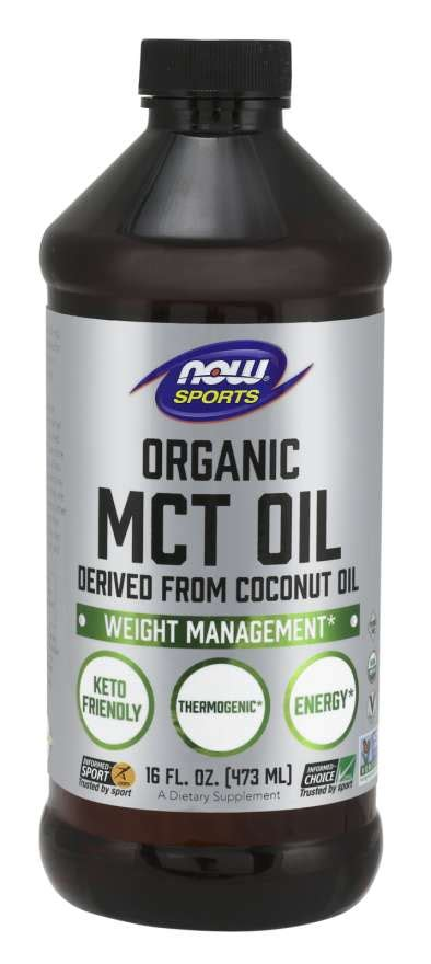 MCT Oil, Organic | NOW Foods