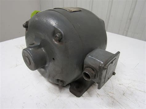 Vintage Electric Motor by Master 152504 1 4hp Vintage Electric Motor 3ph 220v