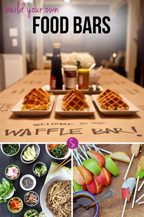 diy cuisine 17 best ideas about food bars on food