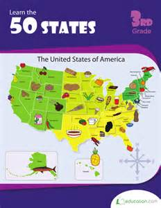 Learn the 50 States Worksheets