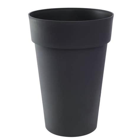 pot musical pas cher toscane vase haut 67l anthracite dia46x65 achat vente jardini 232 re pot fleur vase quot toscane