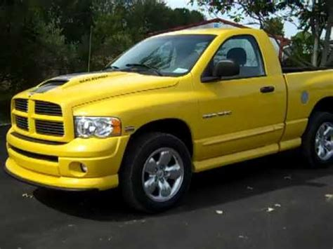 2005 DODGE RAM 1500 4X4 RUMBLE BEE! STOCK # 8069   YouTube
