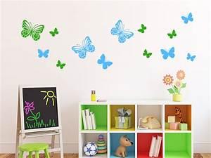 Wandtattoo Kinderzimmer Schmetterlinge : kinderzimmer wandtattoos kindermotive mit namen wandtattoo de ~ Sanjose-hotels-ca.com Haus und Dekorationen