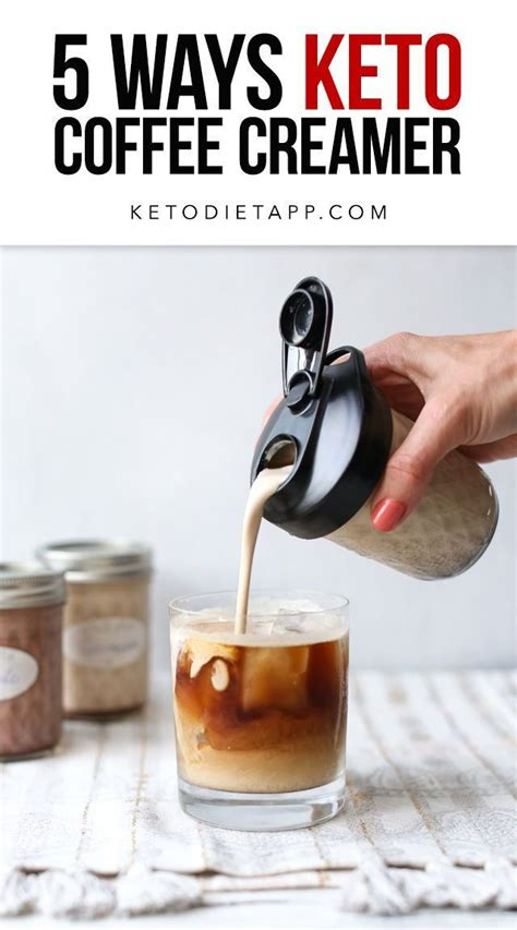 People on the keto diet swear by these. Low-Carb & Keto Coffee Creamer Five Ways | KetoDiet Blog | Dairy free keto recipes, Sugar free ...