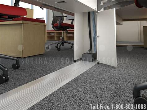 floor mounted wireways surface connected track raceways