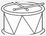 Drum Coloring Pages Drums Printable Bongo Clipart sketch template