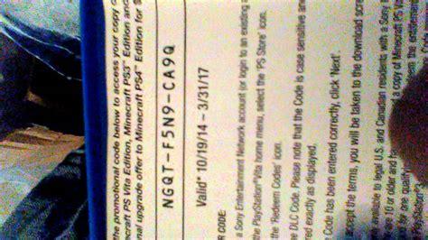 PS Vita Redeem Codes | Mungfali