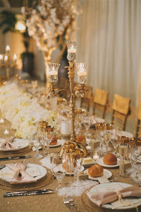 opulent great gatsby winery wedding modwedding