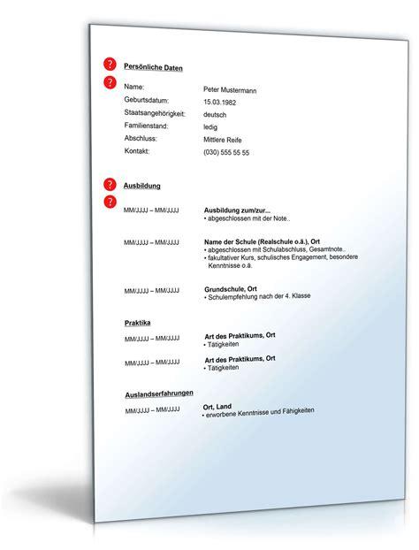 Lebenslauf Abgeschlossene Berufsausbildung  Muster Zum. Lebenslauf Vorlage Online Word. Lebenslauf Muster Planet Beruf. Biographie Pdf Gratuit. Lebenslauf Download Free