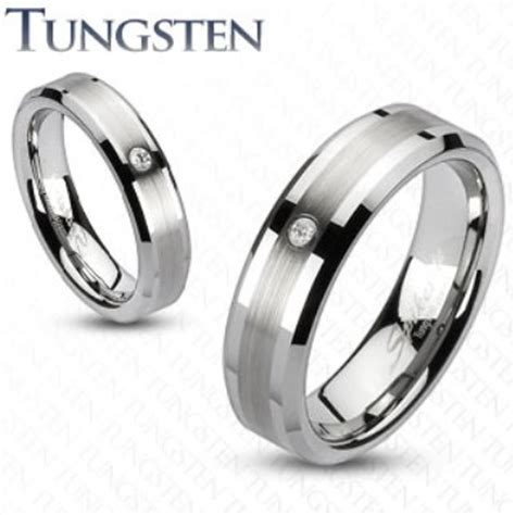 mens tungsten rings