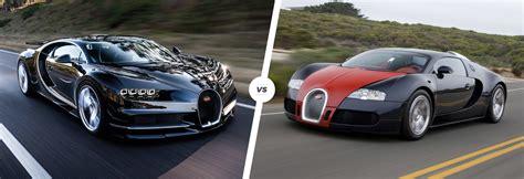 Bugatti Veyron And Chiron by Bugatti Chiron Vs Veyron Speed Stats Comparison Carwow