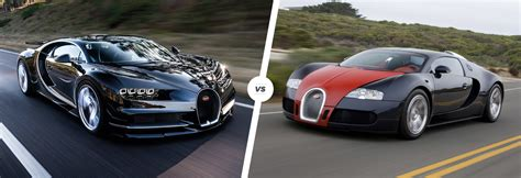 Who is the fastest car. Bugatti Chiron vs Veyron speed/stats comparison | carwow