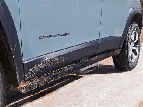 rock cherokee sliders kl jeep road rocky trailhawk slider rockrails kit mudflaps supersliders kicker
