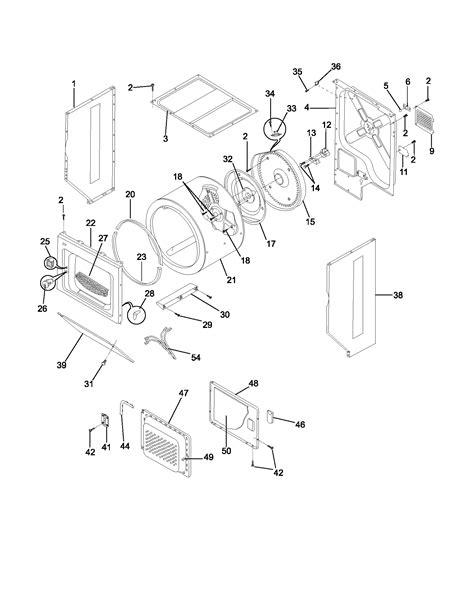 frigidaire laundry center parts flse60rgs0 sears partsdirect
