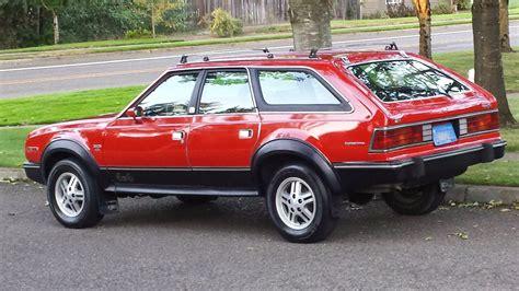 amc eagle american wd sport wagon  cars