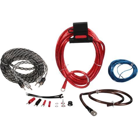 Scosche Watt Max Amp Wiring Kit Carded Pack